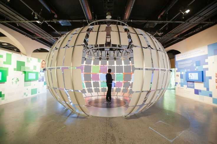 EXPOLOGY; BeDemocracy is an exhibition debating democracy and the influence of social media on democratic participation. It is a total dynamic exhibition where the input from visitors forms the content and expression of the exhibition. — at Nobels Fredssenter.