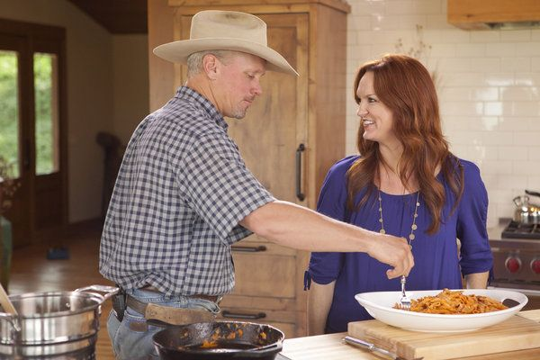 Ree Drummond Husband | Ree Drummond and her husband in The Pioneer Woman photo - The Pioneer ...