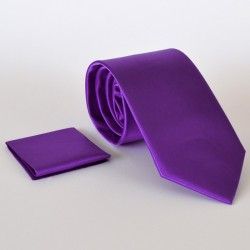Açık Mor Klasik Saten Kravat http://kravatal.com