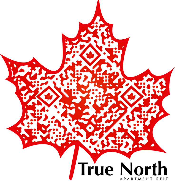 Check out this #SuperCool Custom Designed QR Code for True North Apartment REIT: by RentSeeker.ca