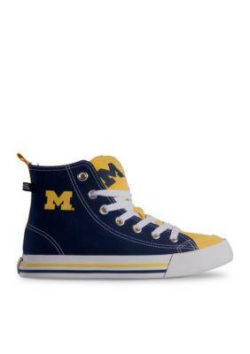 Skicks&Trade; Men's University Of Michigan Men's High Top Shoes