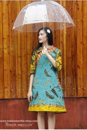 batik amarillis's joyluck dress 2014