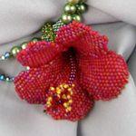 Hibiscus Necklace