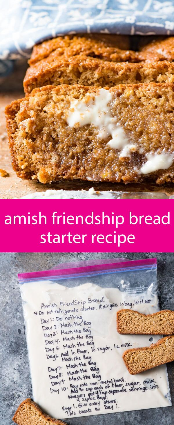 1000+ ideas about Amish Friendship Bread on Pinterest ...