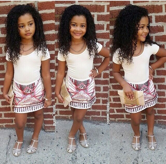 Adorable little girls fashion