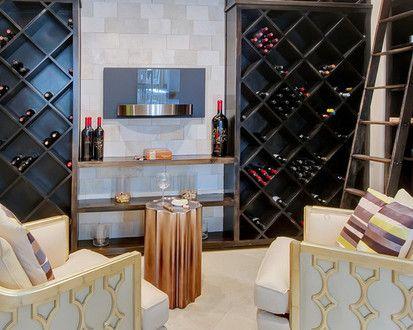 4319 Cedar Bluff, Modern Wine Cellar, Dallas