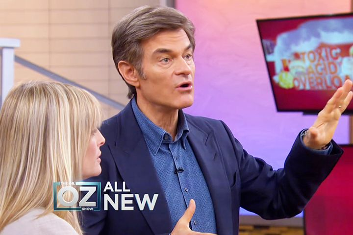 The Diet Plan to End Toxic Acid Heartburn: Dr. Oz has the plan to end heartburn for good!
