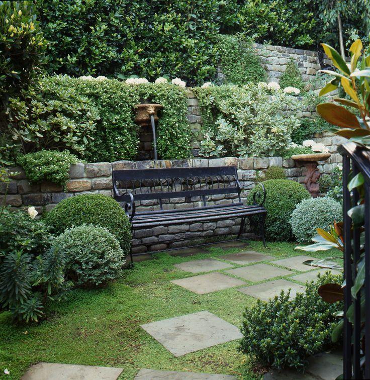 Garden Design On A Hill 13 best garden - sunken courtyard images on pinterest