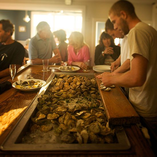 Matunuck Oyster Bar: South Kingstown, RI - Via America's Best Oyster Bars | Food & Wine