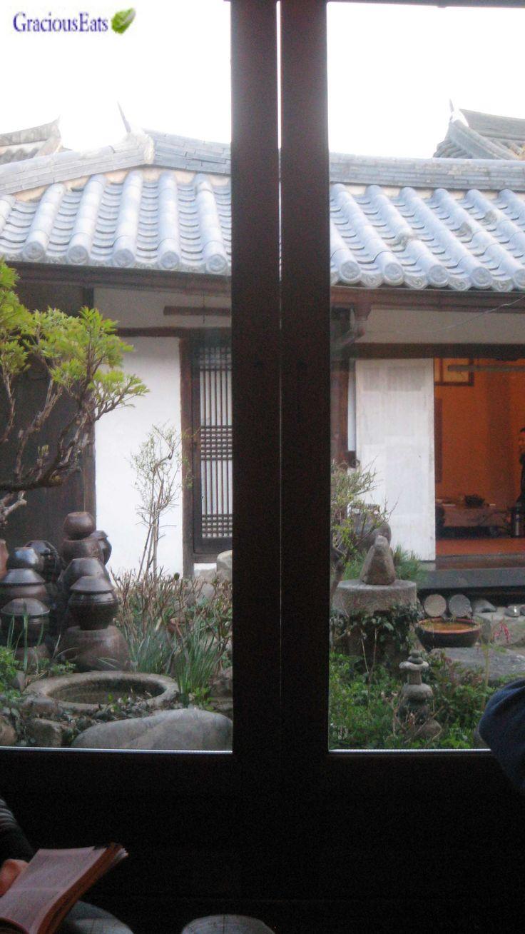 Jeonju, South Korea - Han-ok-maeul-jeonju-tea-house GraciousEats.com