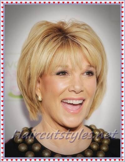 Straight Short Bob Haircut For Older Womens Hairstyles