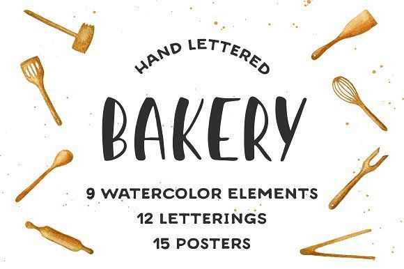 Bakery quotes and posters by Akimo Mia on @creativemarket #BAKERY #KITCHEN #BREAD #DONUT #TOOLS #UTENSILS #PATTERN #LETTERING #FONT #TYPE #TYPOGRAPHY #POSTERS #QUOTE #WATERCOLOR #HAND #DRAWN #CAFE #RESTAURANT #DECORATION #CARD #COOKING #LOVE #SWEET #CAKE #INSPIRATION #MOTIVATION #HOME #HAPPY #PRINT #CALLIGRAPHY #BRUSH #INK #SLOGAN #SKETCH #LABEL #TEXT #VECTOR #FOOD #TASTY #MENU