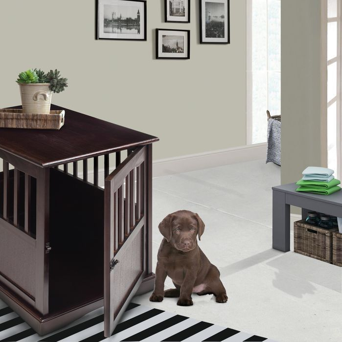 1000 ideas about Dog Crate Table on Pinterest