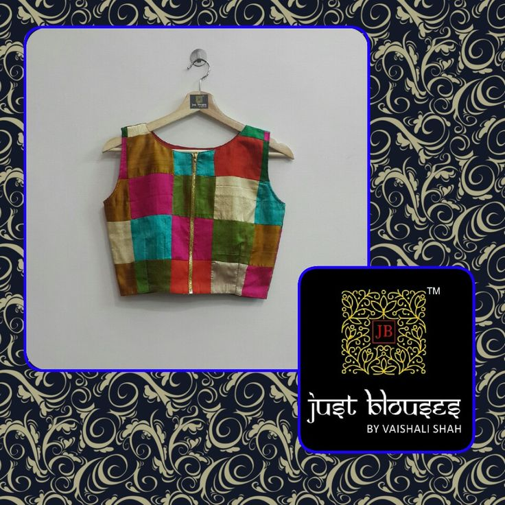 NEW ARRIVALS # RAW SILK CROP BLOUSES # MATCH IT WITH ANYTHING # JUST BLOUSES BY VAISHALI SHAH