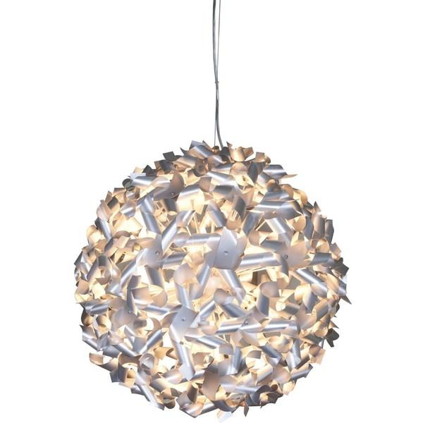 Varaluz Pinwheel Recycled Aluminum Pendant Chandelier - #K4061 ($550) ❤ liked on Polyvore