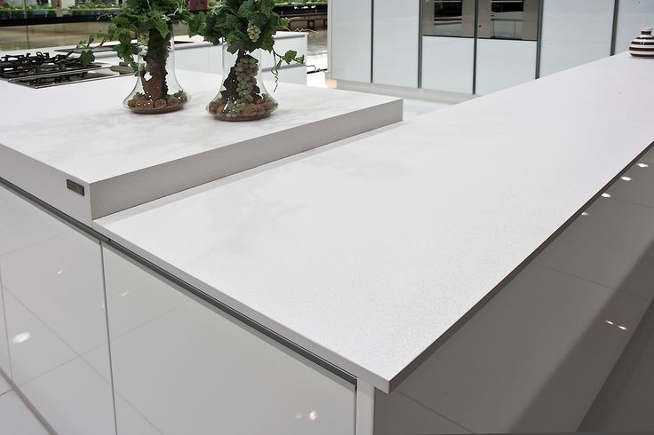 The calm before the storm - this counter is what Scandi dreams are made of. Clean and simple, oozing style.
