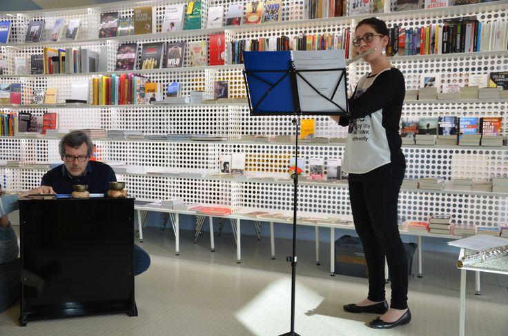 20.03.15 Cornelia Senoner und Paolo Tomada spielen in der Liber Wiederin in Innsbruck.