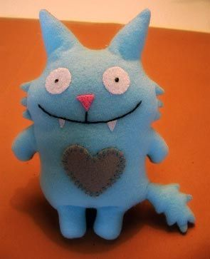 Like felt Ugly Dolls. Could make little mini ones with my class.