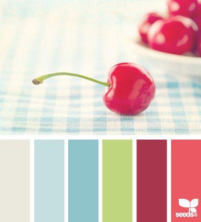 cherry color - Paleta de cores