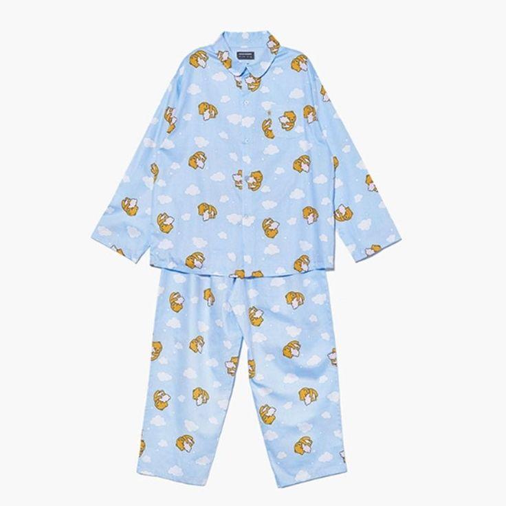 Kakao Friends Cozy Cloud Pajama Men Ryan Home Wear Sleepwear Free Size GKKF0436 #KakaoFriends #PajamaSets