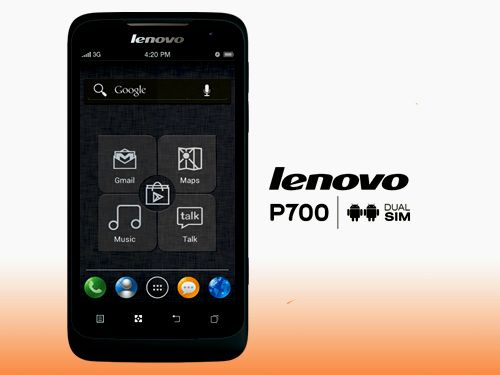Lenovo P700: Lenovo P700