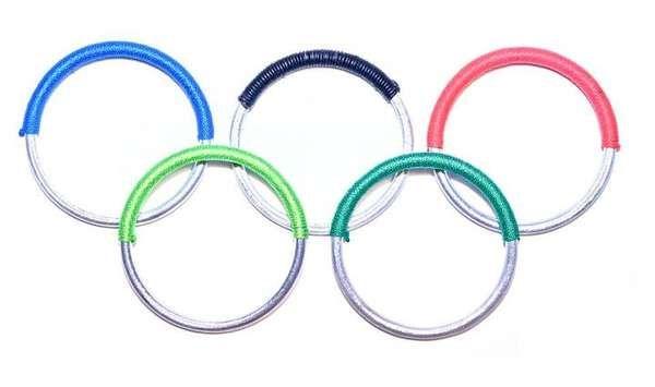 Article22/peaceBOMB bracelets made by Lao artisans from salvaged artillery shrapnel #socialfashion #London2012 #olympics #jewelry