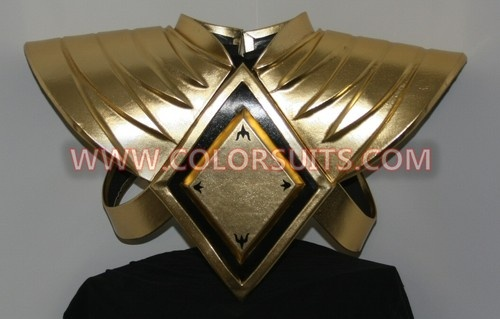 Mighty Morphin Power Rangers Green Power Ranger SHIELD ANIKI FAST SHIP costume $349.99