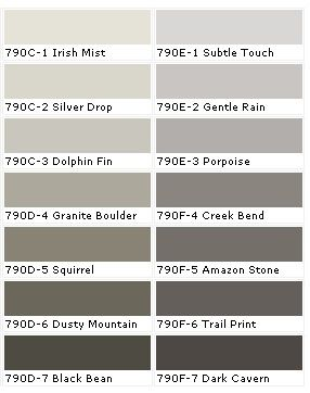 a new found love of gray behr paint colors paint on behr paint interior color chart id=25134