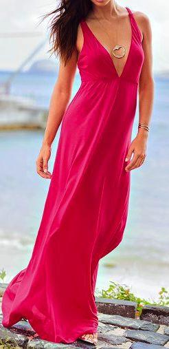 Maxi beach dress