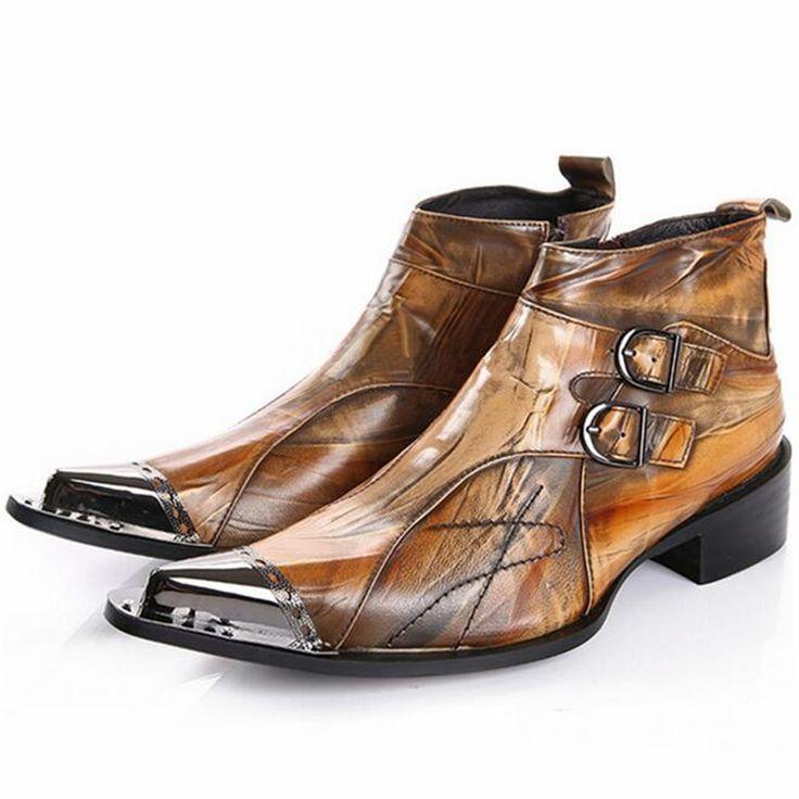 Printemps fait à la main Bottines en crepe d'hiver Bottes Casual Season Bottes de mode Q0L50