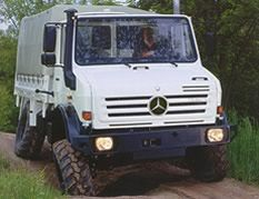 The Mercedes Unimog might be the ultimate in extreme 4x4 vehicles.