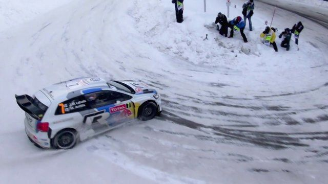 A Drone's-Eye-View Of The Monte Carlo Rally Is Impossibly Cool