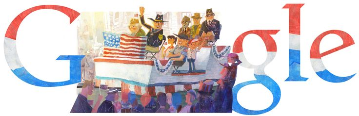 Veterans Day 2013 [День ветеранов] /This doodle was shown: 11.11.2013 /Countries, in which doodle was shown: United States