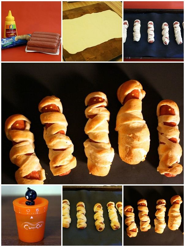 162 best how to images on pinterest kitchens craft and creative ideas how to make cute mummy hot dogs step by step diy tutorial instructions how to solutioingenieria Images