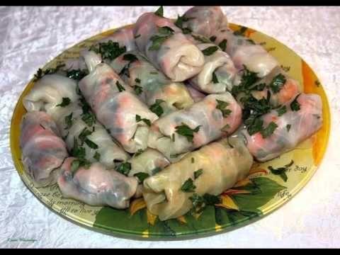 Маринованные овощные голубцы Приятного аппетита!