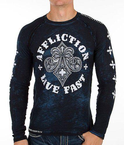 Affliction Royale T-Shirt Blue | Affliction Clothing Dealz