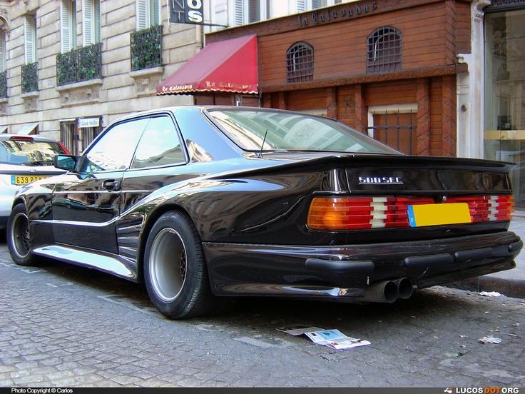 mercedes benz 560sec by koenig specials classic cars. Black Bedroom Furniture Sets. Home Design Ideas