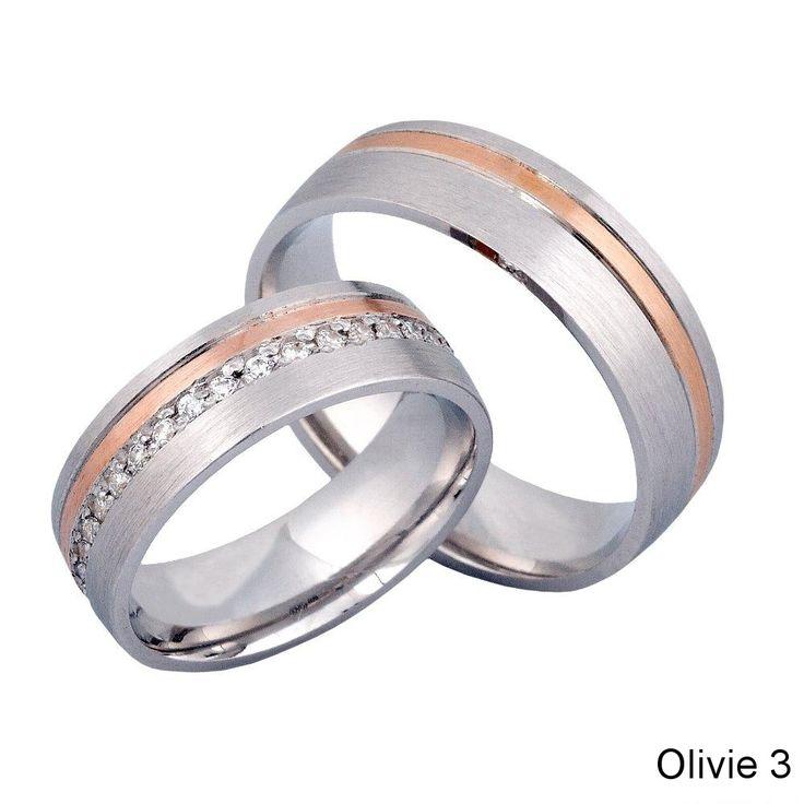 Snubní prsteny Olivie