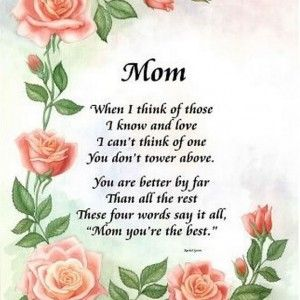 Mothers Day Funny Poems From Daughters