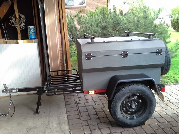 Mini Harbor Freight Type Trailer Ultimate Build Up Thread