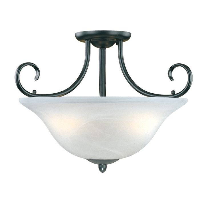 shop millennium lighting 3 light main street semi flush ceiling light at atg stores browse