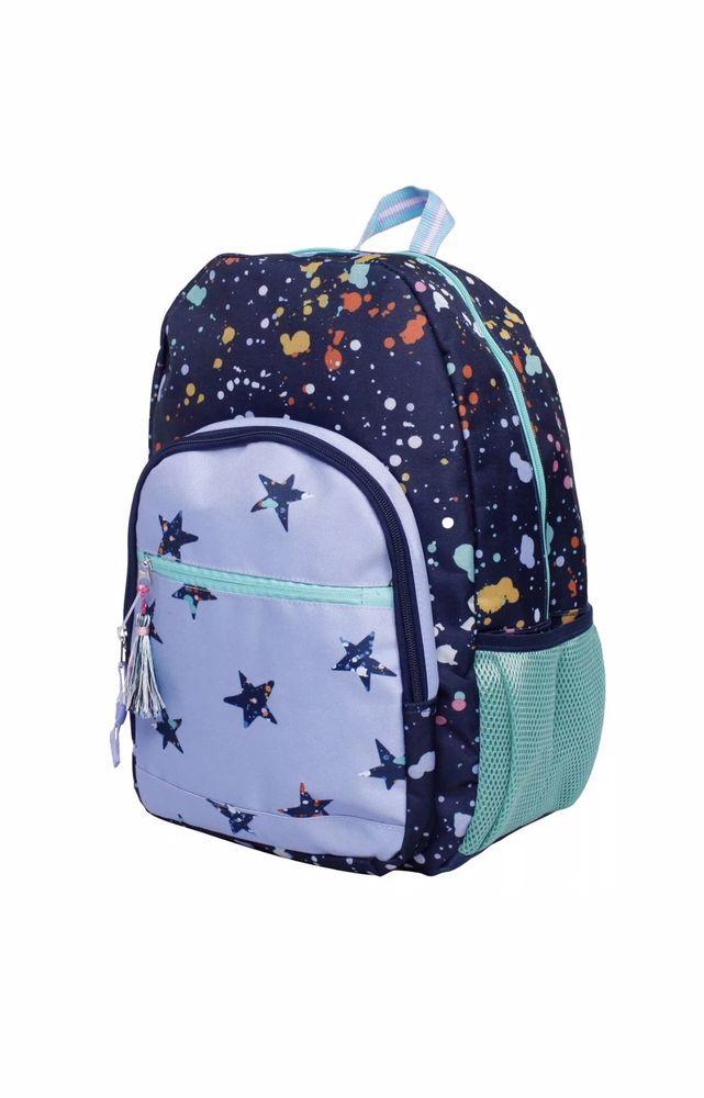 7e7e04e1ec531 NEW Cat & Jack's Kids' Backpack Splatter Star 17