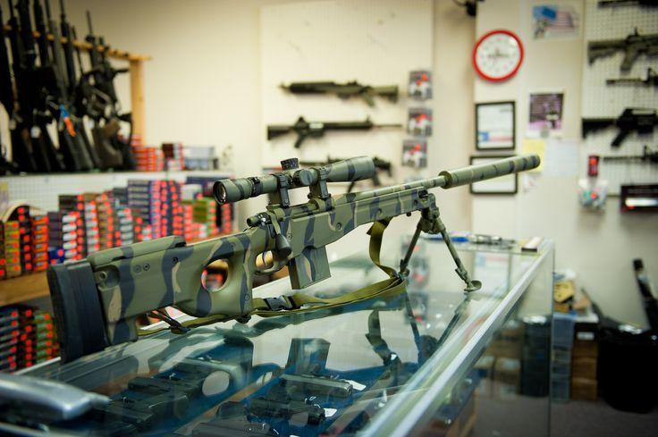 Remmington 700 John's Guns Integral Suppressor