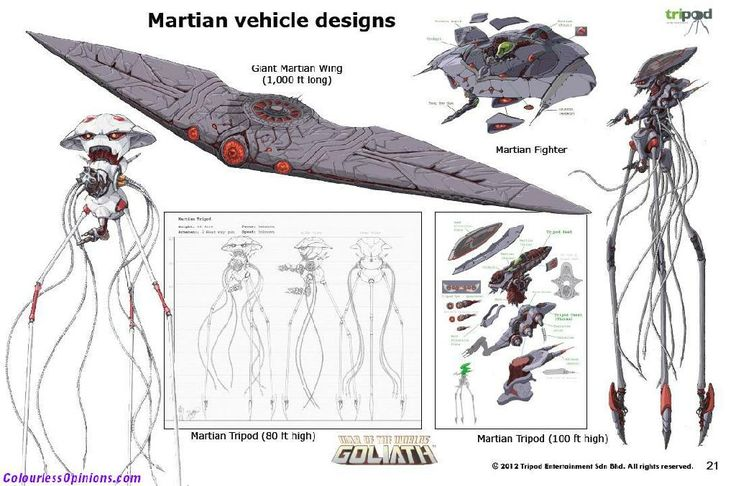 War Of The Worlds Goliath Martians