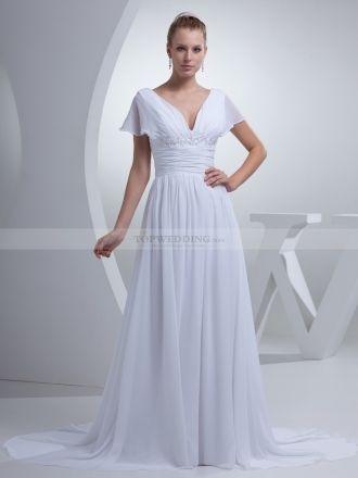 Batwing Wedding Dress Design