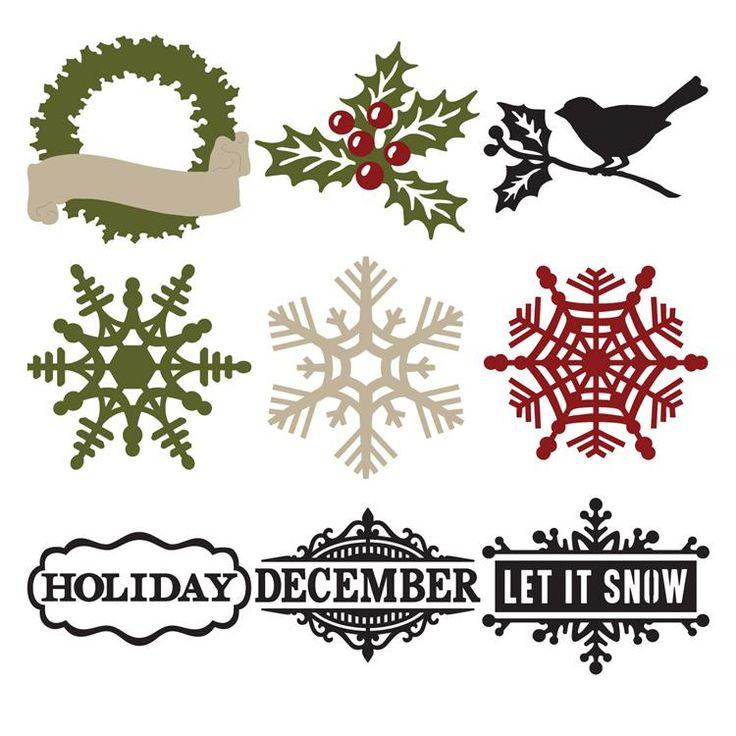 $22.71 Amazon -- Cricut® Teresa Collins - December 25th Seasonal Cartridge