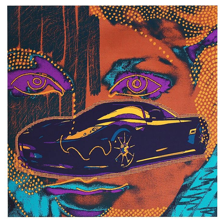 """#LifeOnWall #PapeBoxGallery """"Purple Speed"""" The artist has completed the work with the map """"Hommage Koenigsegg"""" of six exclusive serigraphs/silkscreen. High Quality fine art series in limited and signed edition. 27.2 x 27.2  inch  (69 x 69 cm). 475 USD"""