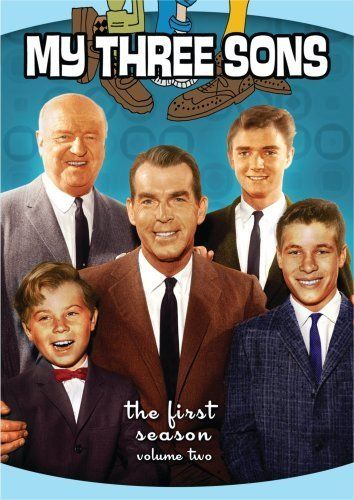 My Three Sons.......the first season....don't remember this!  I remember a different uncle Charlie