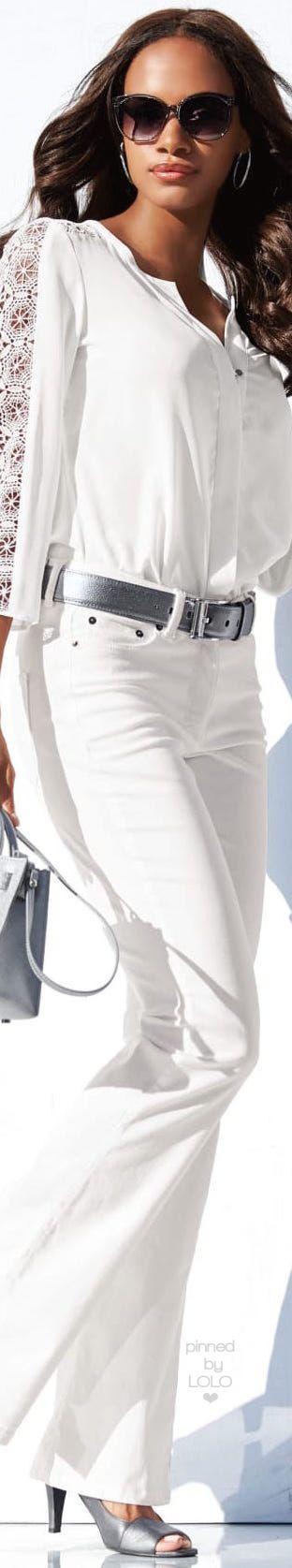 Madeleine | white women fashion outfit clothing style apparel @roressclothes closet ideas