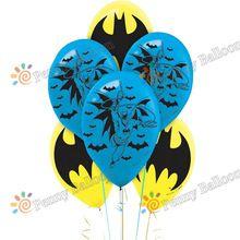 Envío gratis 50 unids/lote avengers hero batman globo de látex globo niños baby shower fiesta de cumpleaños suministros juguetes para niños(China (Mainland))